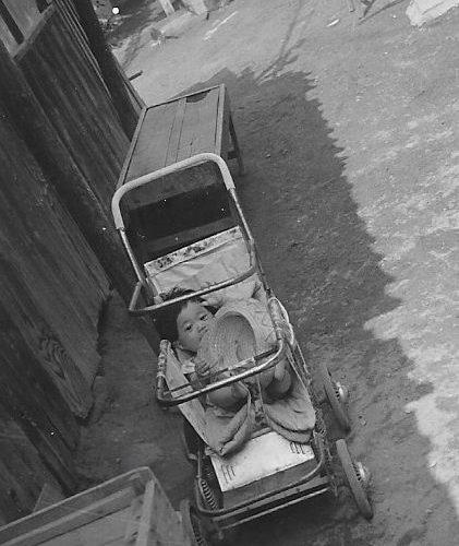 昭和39年 大阪市 乳母車