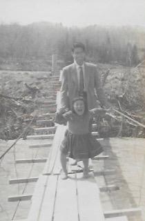 昭和30年代 吊り橋