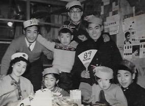 昭和33年 東京 一般家庭のクリスマス