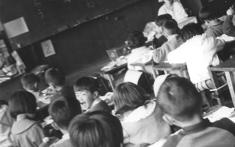 昭和41年 給食の時間