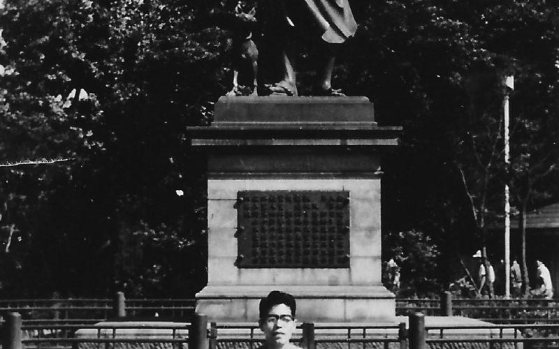 昭和36年 上野公園 西郷どん
