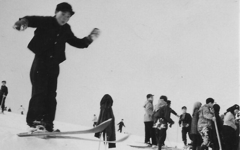 昭和31年 スキー授業
