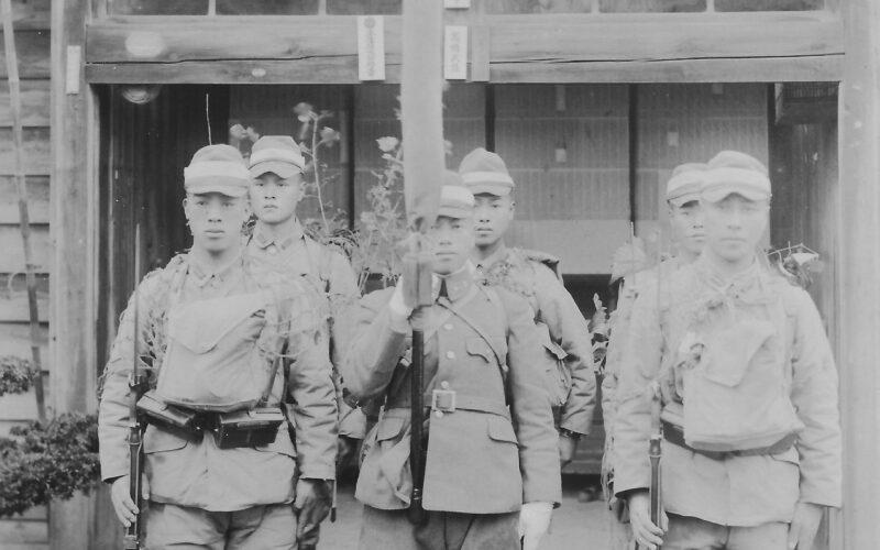 昭和15年 北支戦線赴任の兵隊さん